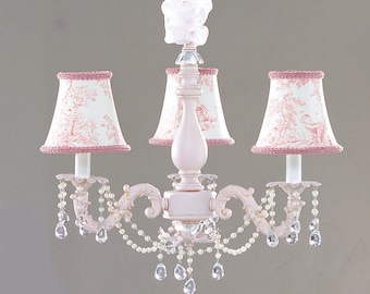 Shabby Chic Cottage Style Mini Chandelier Sugar Plum by ...