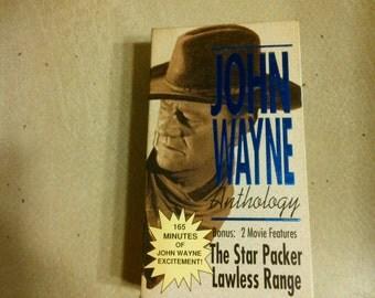 John Wayne Anthology 2 pk VHS