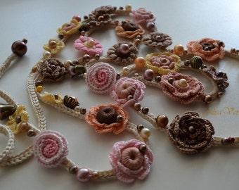 Bracelet.  Belt. Decoration on the neck. Hair dressing. Beads. Cord. Bronze.