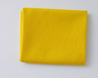 yellow solid fabric | Empire Yellow | Pure Elements Solids by Art Gallery Fabrics