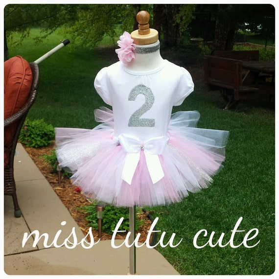 2nd Birthday Tutu Outfit 1st Birthday Outfit Pink By