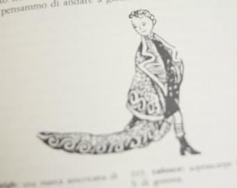 Book Il Giornalino di Gian Burrasca 1981 Edition. Paperback, green color. Gianburrasca, children