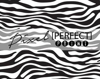 """4ft x 4ft """"Zebra"""" Vinyl Backdrop // Vinyl Backdrops // Vinyl Photography Backdrop // Animal Print Backdrops (PP267)"""