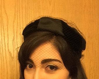 1950s black hat