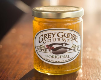 Original Pepper Jelly ~  Homemade with fresh, local, and simple ingredients ~  9 oz. jar ~ mild heat with sweetness...where it all began!