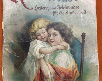Old German children's book by Johannes Blanke with delightful images