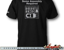 AC Cobra Replica T-Shirt for Men - Assembly Required - Multiple colors available, Size: S - 3XL - Great AC Cobra & Replica Gift Legend Lines