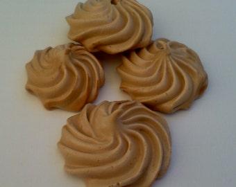 Sugar/Gluten Free Meringue Cookies 2 Dozen You Choose the Flavor