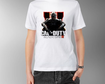 Call Of Duty Black Ops III 3 Personalised Kids Tee T-Shirt T Shirt