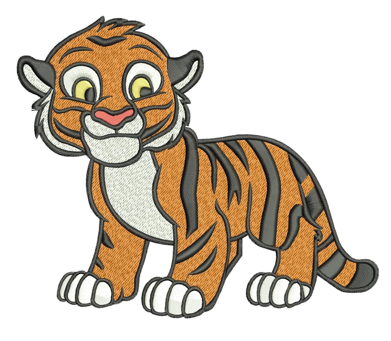 Motifs de broderie machine t l charger instantan ment raja - Tigre de jasmine ...