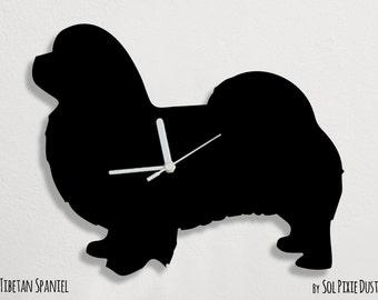 Tibetan Spaniel Dog - Wall Clock
