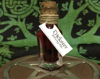 TRICKSTER: Ritual Oil for Loki, Norse God of Mischief and Fire