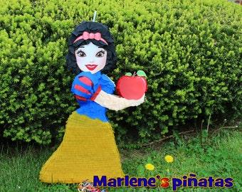Snow White or her dwarf Dopey pinata.. !