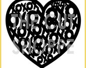The Filled With Love cut file is a background, that can be used on your scrapbooking and papercrafting projects.