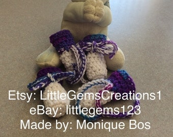 Dog booties Set of Four  Dog clothes size small