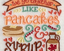 We go together Towel Bundle, We go together bundle. funny towels, cool towels, funny sayings, best friends, pancakes and syrup