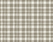 Jardin de Provence - Gray Plaid/Check,  by Daphne Brissonnet, from Windham Fabrics, 1 yd