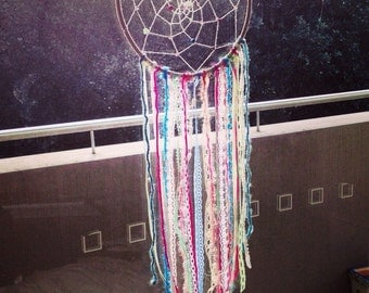 8 inch handmade colour dreamcatcher