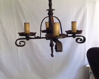 1920's 4 arm light fixture from gome in Oak Park IL
