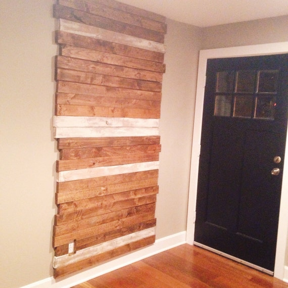 Best Wood For Accent Wall: Rustic Wood Wall Reclaimed Accent Wall