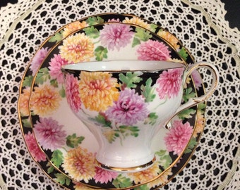 Paragon Crysantemum Teacup and Saucer