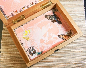 Butterfly Stash Box