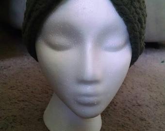 Ear warmer headband with simple knot