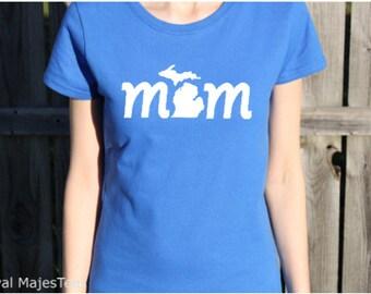 Michigan Mom Shirt, Michigan T-shirt, Michigan mitten