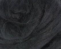 Tussah Silk (Top) Sliver - Smokey Mountain (Grey) - 1oz or .5oz