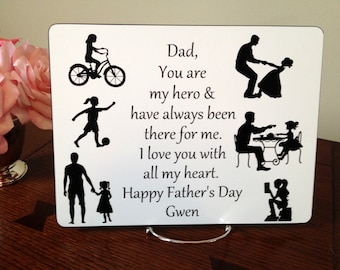 Christmas Gift for Dad from Daughter, Dad's Gift for Dad from Daughter, Fathers Day Gift from Daughter, Birthday Gift for Dad from Daughter