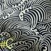 Nautical Fabric. Japanese Wave fabric. Pure Cotton. Blue White Fabric. Handcraft fabric. Tissu Japonais. JP100031-C