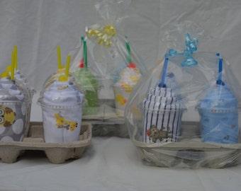 Baby Blanket Drink Cups - 4pk
