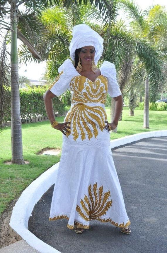 Robe De Mari 233 E En Bazin Riche Id 233 Es Et D Inspiration Sur