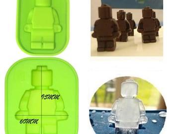 Legomännchen LEGO mold silicone mould LEGO robot