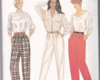 Vintage 1990 Simplicity Pants Pattern