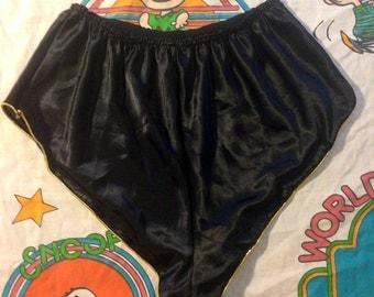 Vintage High Waist Lingerie Short Shorts sz.M