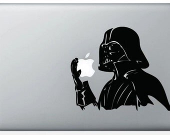 'Darth Vader Star Wars' sticker for MacBook