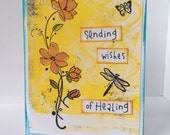Sending Wishes of Healing get well card