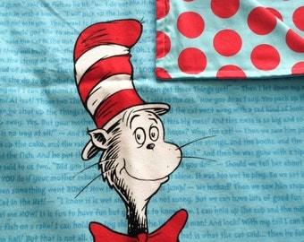 Cat In The Hat Baby Blanket