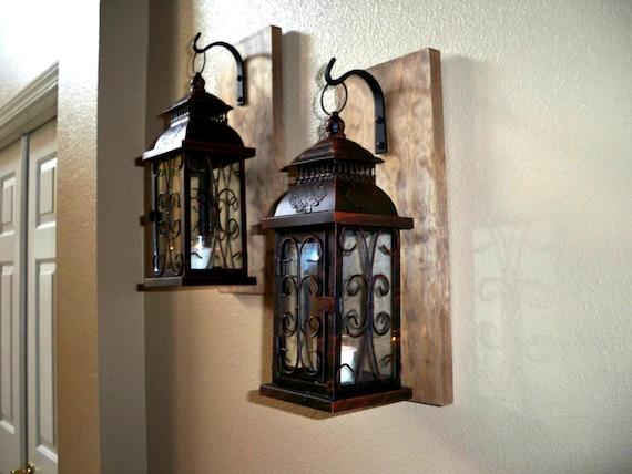 Lantern Set Wall Decor Bathroom Decor Housewarming Gift