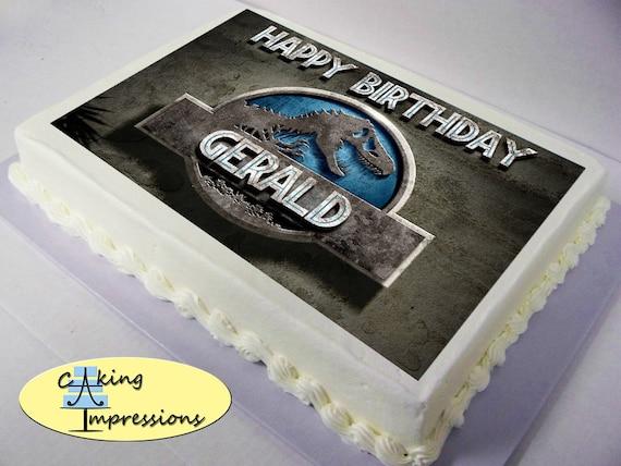 World Jurassic Cake Rex Idominis