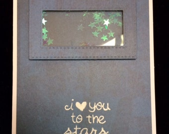 I Love You To The Stars And Back Greeting Card