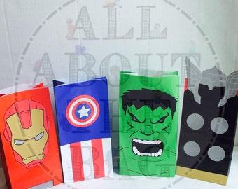 Avenger favor bags