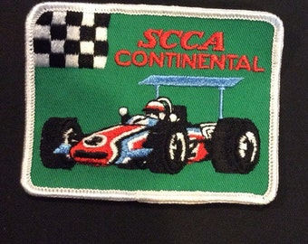 Vintage SCCA continental sew on patch