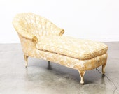Hollywood Regency Chaise Lounge