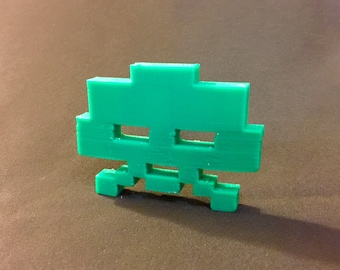 Space Invaders Alien 20 Point 3D Model