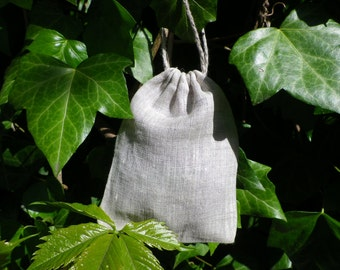 Linen Candy, Favor bag, Rustic Gift Bag,  Drawstring Pouch, Eco Friendly Pouch, Linen Favor Bag, Set of 50 Bags,  3 x 4 inch