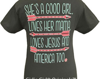 Girlie Girl Originals Good Girl Short Sleeve Unisex Fit T-Shirt