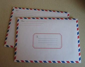 A7 Size AirMail Envelope