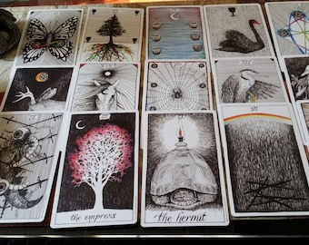 Tarot Card Fortune Telling Reading Personalized Manifesting Desires Tell Your Future Discover Magic
